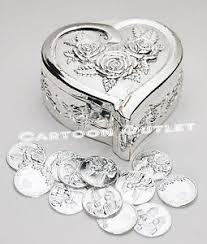 arras boda silver single heart arras wedding ceremony arras de boda 13 unity