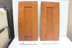 used kitchen cabinets doors ikea 2 akurum adel medium brown kitchen cabinet doors pair 24x12 birch