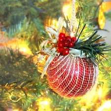 365 designs diy burlap ornament