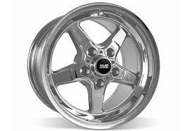 sve wheels mustang ford mustang sve drag wheel 15x10 chrome 94 04 392 sve 10071650