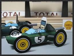 paper model lotus 24 paper car free template download