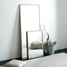 Free Standing Bathroom Mirror Gold Free Standing Bathroom Mirror Company Silver Leaf Floor