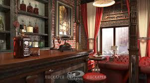 Steam Punk Interior Design Jules Verne Restaurant Interior Design Vladimir Piskariov