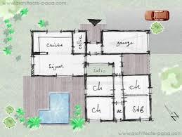 plan maison gratuit 4 chambres plan maison etage 3 chambres gratuit 4 plan de maison moderne