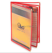 photo pages for albums a4 4 pages pvc recipe frame book restaurant food shop menu frame