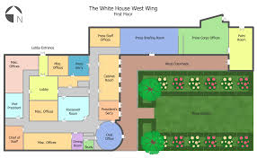 floor plan of the white house floor plans solution conceptdraw com ground plan white house west