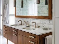 bathroom vanity countertop ideas bathroom countertop ideas hgtv