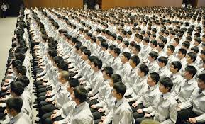 toyota japan 910 000 new recruits mark first day at work across japan the