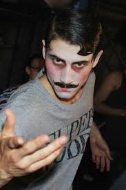 men halloween makeup john galliano paris men u0027s wear s s 2011 backstages pinterest