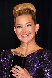 hair styles for ears that stick out kate hudson s statement up do sock bun look hair beauty