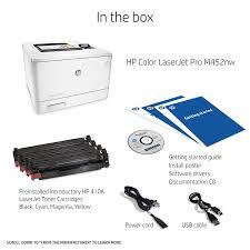 amazon com hp laserjet pro m452nw wireless color printer cf388a