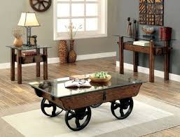 Wagon Wheel Coffee Table by 25 Best Transitional Coffee Table Sets Ideas On Pinterest