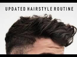 chico tv model hairstyles men s hair tutorial updated hairstyle routine 2016 jairwoo youtube