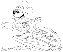 mickey mouse coloring pages crafts worksheets preschool