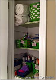 organizing your linen closet u2013 come home for comfort