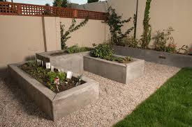 Concrete Planter Boxes by San Francisco Planter Box Design Landscape Modern With Trellis
