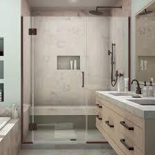 39 Shower Door Dreamline Unidoor X 39 1 2 In To 40 In X 72 In Frameless Pivot