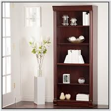 24 wide bookcase with doors home design ideas