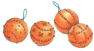 how to make pomander balls orange clove pomanders the