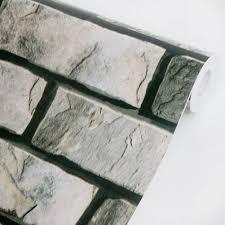 self adhesive wall paper stone brick vinyl self adhesive wallpaper prepasted wall