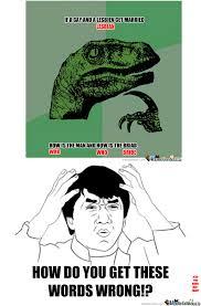 Bad Spelling Meme - bad spelling by hiruzane1 meme center