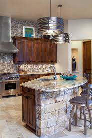 stone kitchen islands stone kitchen island kitchen transitional with art niche counter