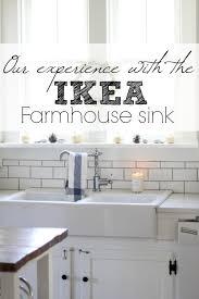 Ikea Farmhouse Kitchen Sink Our Experience With The Ikea Domsjo Bowl Farmhouse Sink
