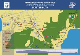Boston Marathon Course Map by Athens Authentic Marathon 10k U0026 5k Overview Marathon Tours