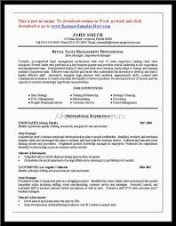 Grocery Store Resume Of Grocery Store Manager Resume