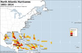 Map Caribbean by The Regions Most At Risk For Atlantic Hurricanes In 3 Maps The