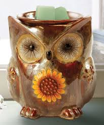 another great find on zulily brown owl candle warmer by