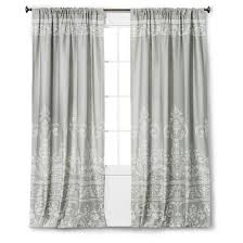 White Taffeta Curtains Vintage Gate Curtain Panel The Industrial Shop Target
