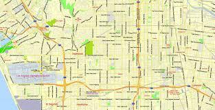 california map pdf los angeles metro area pdf map california us exact vector map