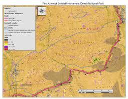 Denali National Park Map My Life As A Geocorps Participant At Denali National Park And
