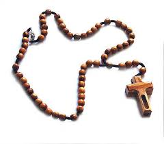 free rosaries olive wood rosary cross with river water mznr1 14 00