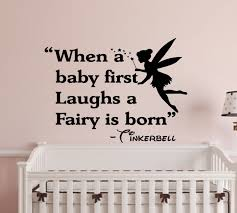 Nursery Quotes Wall Decals by When A Baby First Laughs Wall Decal Wall Words Wall