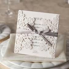 Design Of Marriage Invitation Card 2017 New Laser Cut Wedding Invitation Card Design With Lined