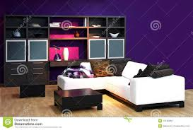 purple livingroom purple living room stock photo image of settee interior 13740262
