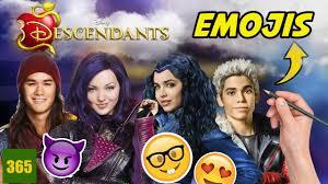 comment dessiner descendants avec la forme d un emoji youtube