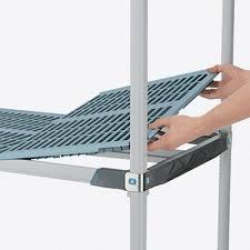 etagere pour chambre froide étagère grillagé metro les systèmes espace max inc