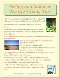 energy saving tips for summer spring and summer energy saving tips cape light compact