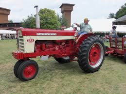 1943 farmall h with ihc 25 v sickle bar mower my grandfather