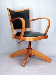 bon fauteuil de bureau chaise a accoudoirs fauteuil bureau tournant 1950 vintage