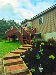 Cedar Landscape Timbers by Outdoor Railroad Tie Landscape Border How To Connect Landscape