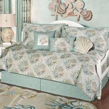 Seashell Queen Comforter Set Coastal Dream Seashell Daybed Bedding Set Pics On Awesome Daybed