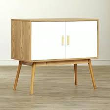 mid century storage cabinet console table with storage mid century modern console table storage