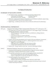 Resume Technical Skills List Professional Experience Examples For Resume Resume It Examples