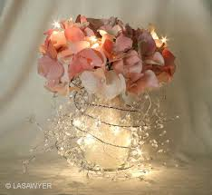 lighted centerpieces for wedding reception garland lights wedding centerpiece white lead centerpieces and