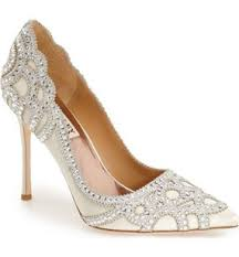 wedding shoes ivory badgley mischka wedding shoes up to 70 at tradesy