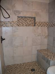 walk in shower with niche and bench southern home improvement